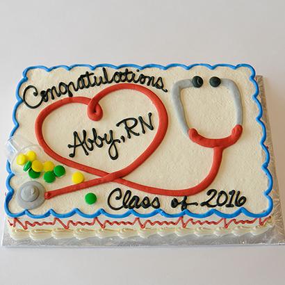 Birthday Nurse Cake