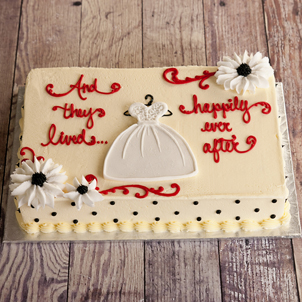 "Happily Ever After - 6"" Single Round"