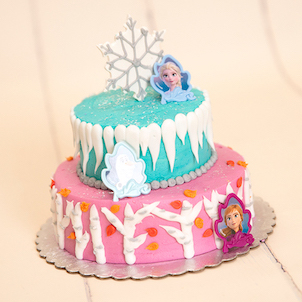 "Frozen Sweet Stack- 6""-4"" Single Round"