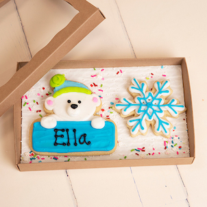 Polar Bear Cookie Set
