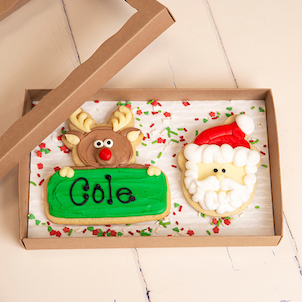 Rudolph Cookie Set