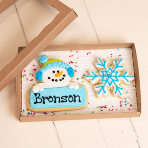 Snowman Cookie Set