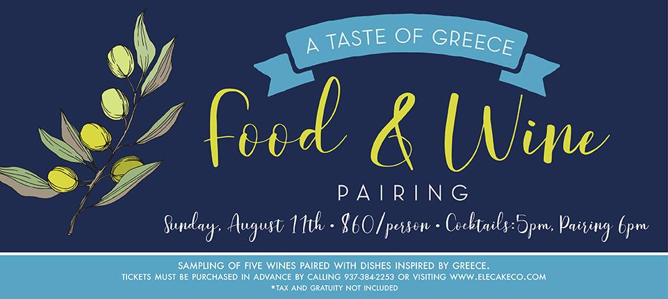 Greek Wine Pairing