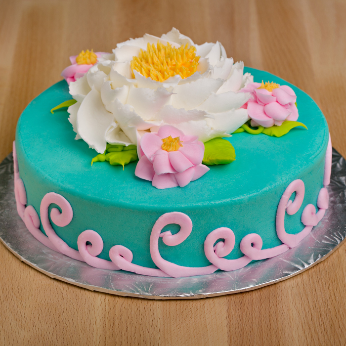 Blooming Cake 6 Blooming Cake 6 12 Double Round