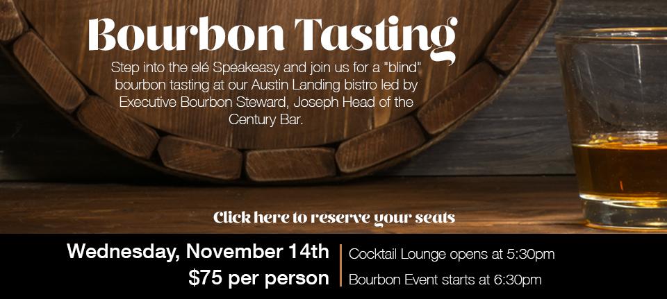 Bourbon Tasting