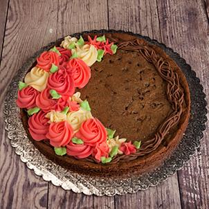 "Grapevine Wreath Cookie Cake- 8"" Round"