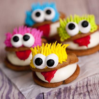 Monster Cookie Sandwich