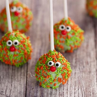 Vanilla Cake Pop - Monster- 1/2 Dozen