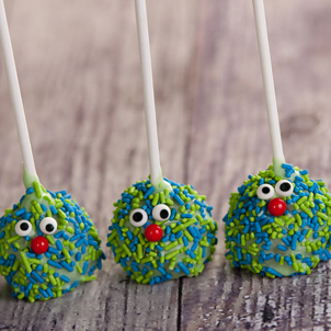Chocolate Cake Pop - Monster- 1/2 Dozen