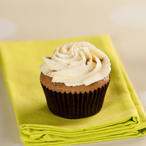 Pumpkin with Buttercream Cupcake