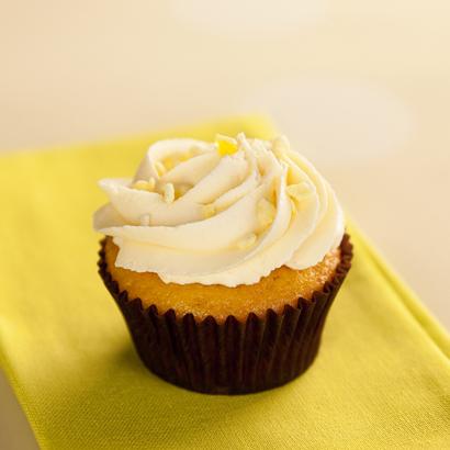 Lemon with Buttercream Cupcake