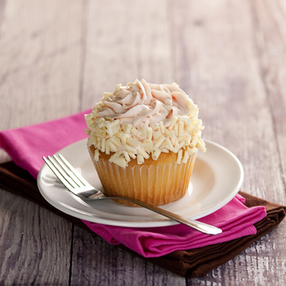 White Raspberry Colossal Cupcake