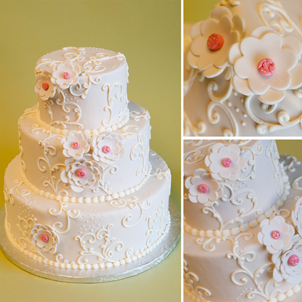 Bella Wedding Cake