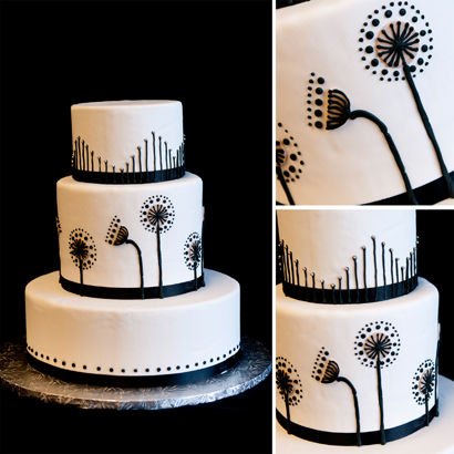 Lilia Wedding Cake