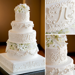 Natalie Wedding Cake