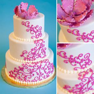 Peyton Wedding Cake