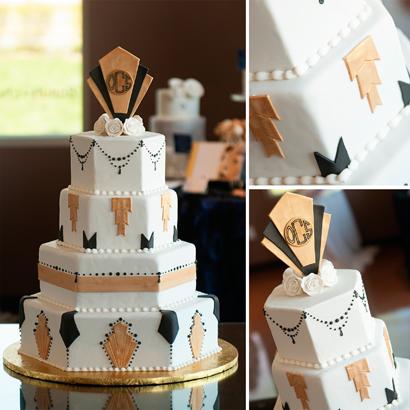 Dominique Wedding Cake