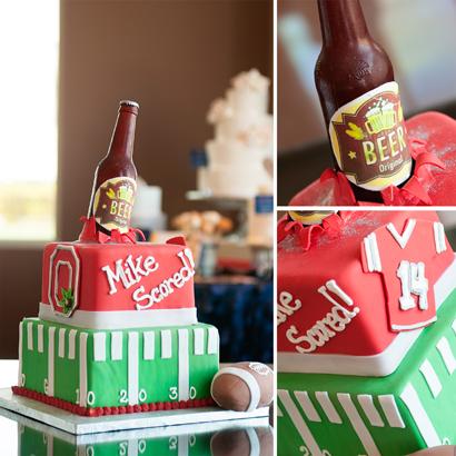 Score Groom's Cake