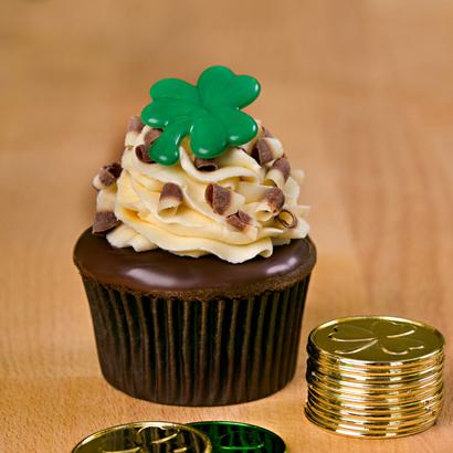 Chocolate Irish Cream Gourmet Cupcake