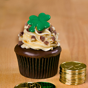 Chocolate Irish Cream Gourmet Cupcake