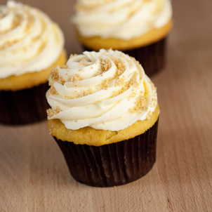Banana Cream Pie Gourmet Cupcake