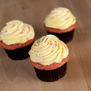 Strawberry Lemonade Gourmet Cupcake