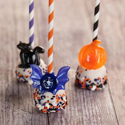 Vanilla Cake Pop - Halloween- 1/2 Dozen