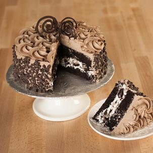 Brownie Dessert Cake