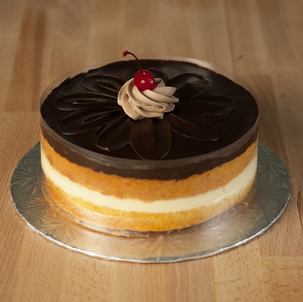 Boston Cream Dessert Cake