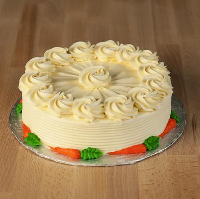 Plain Carrot Dessert Cake