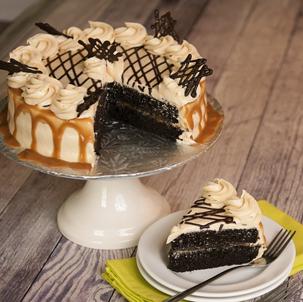 Salted Caramel Dessert Cake