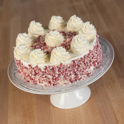 White Peppermint Dessert Cake