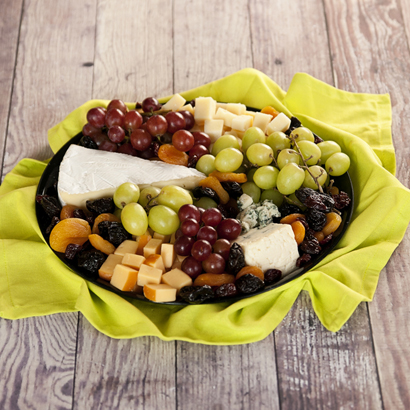 Specialty Cheese & Fruit Tray