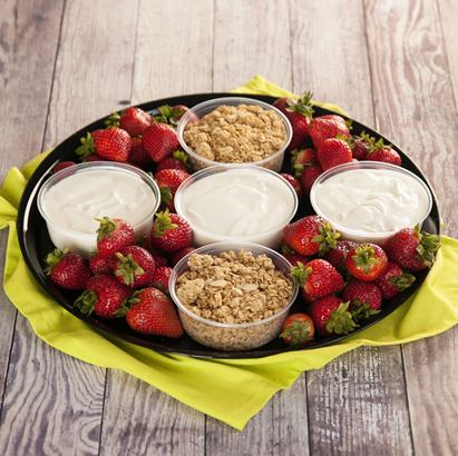 Granola & Yogurt Tray