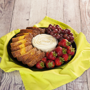 Pound Cake & Fruit Tray