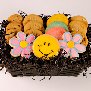 Cookie & A Smile Cookie Basket