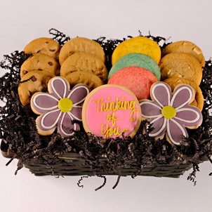 Brighten a Day Cookie Basket