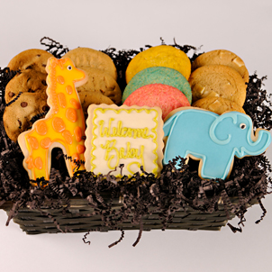 """Welcome to the Jungle"" Cookie Basket"