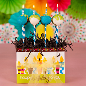 """Confetti & Candles"" Party Pop Box"