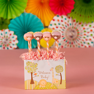 """Sweet Baby Girl"" Party Pop Box"