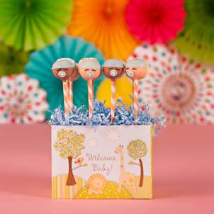 """Sweet Baby Boy"" Party Pop Box"