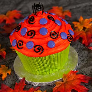 Happy Haunting 3D Cupcake