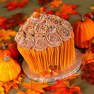 Fall Fantasies 3D Cupcake