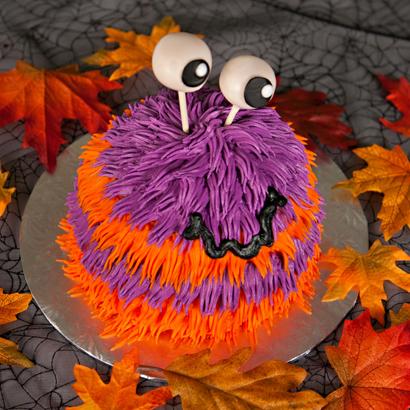 Furry Monster Cake