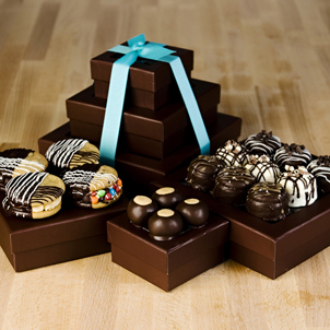 Chocolate Bounty Gift Tower