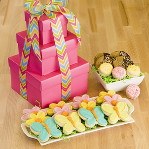 Flutter Gift Tower