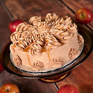 Caramel Apple Cider Dessert Cake