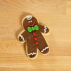 Gingerbread Boy Cut-Out Cookie