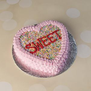 """Sweet Heart- 8"""" Single Heart"""