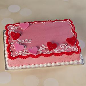 """Romantic Hearts - 10"""" Double Round"""